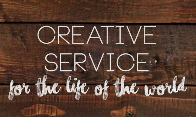Creative Service - What is Your Salvation For? Graphic