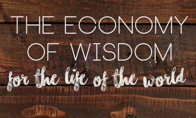 Wisdom - For The Life of The World Graphic