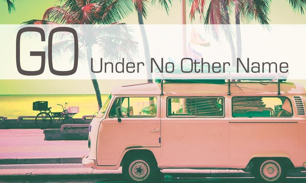 Go: Under No Other Name Graphic