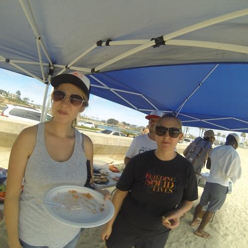 Beach Baptism 2015 Image 1