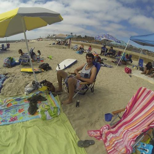 Beach Baptism 2015 Image 4