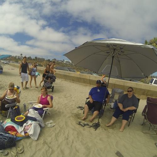 Beach Baptism 2015 Image 8
