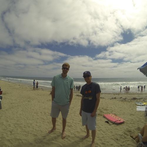 Beach Baptism 2015 Image 12