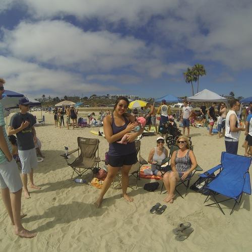 Beach Baptism 2015 Image 13