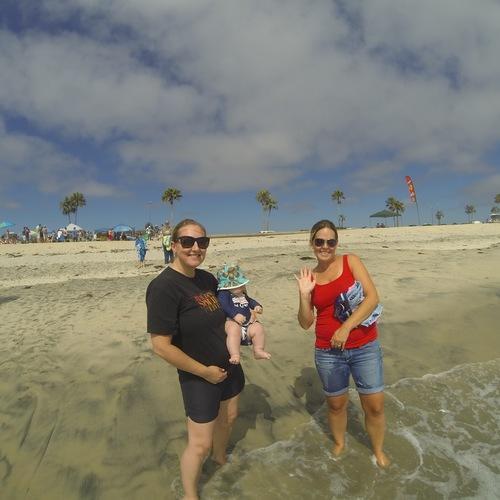 Beach Baptism 2015 Image 16