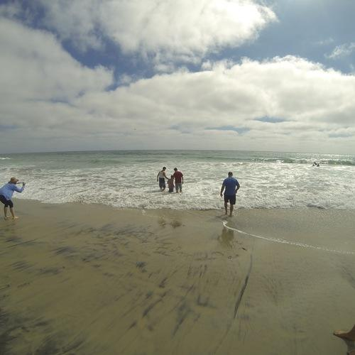 Beach Baptism 2015 Image 18