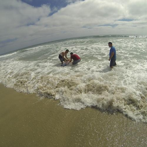 Beach Baptism 2015 Image 19
