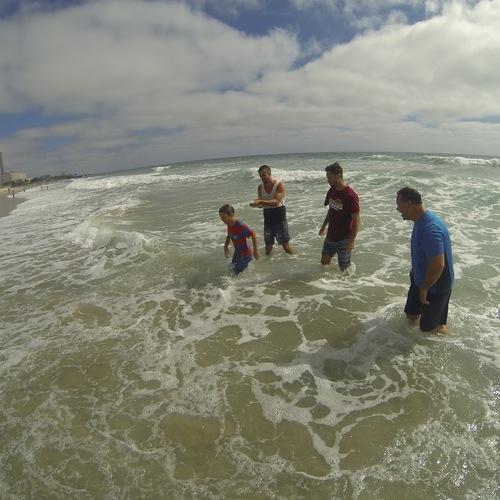 Beach Baptism 2015 Image 20