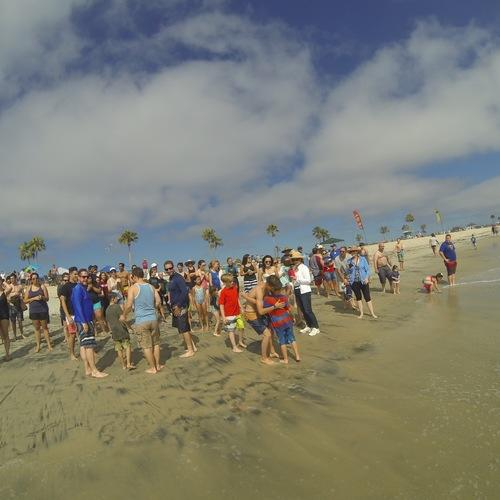 Beach Baptism 2015 Image 21