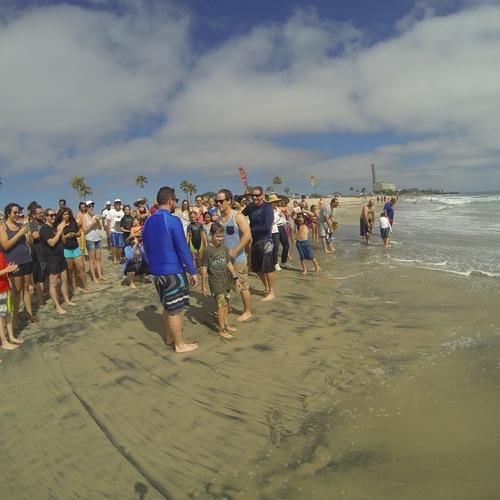 Beach Baptism 2015 Image 22
