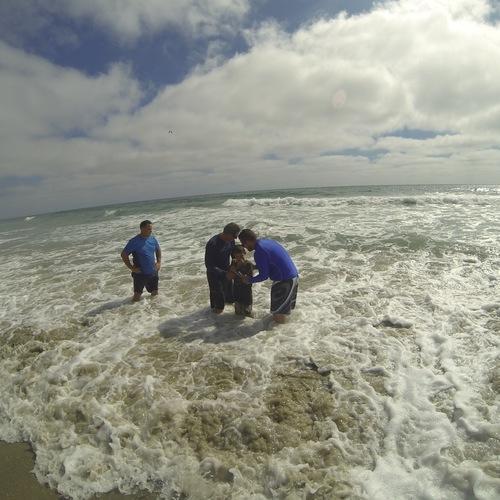 Beach Baptism 2015 Image 23