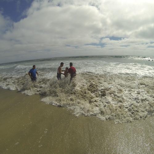 Beach Baptism 2015 Image 25