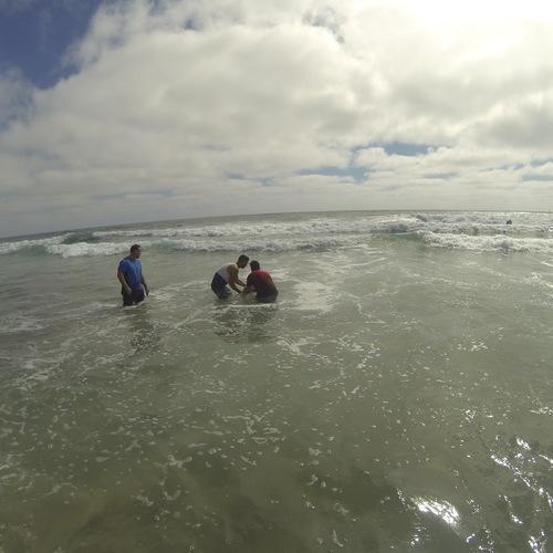 Beach Baptism 2015 Image 26