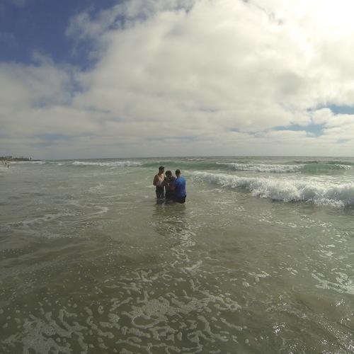 Beach Baptism 2015 Image 27