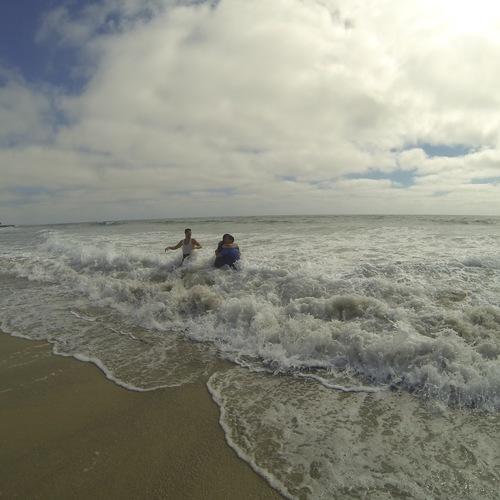 Beach Baptism 2015 Image 28