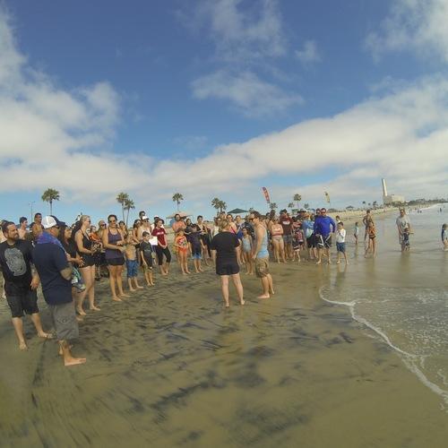 Beach Baptism 2015 Image 29