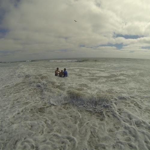 Beach Baptism 2015 Image 30