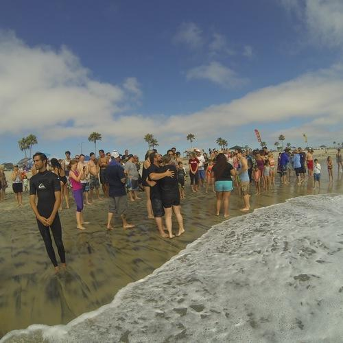Beach Baptism 2015 Image 31