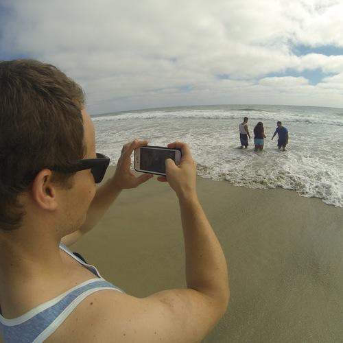 Beach Baptism 2015 Image 32