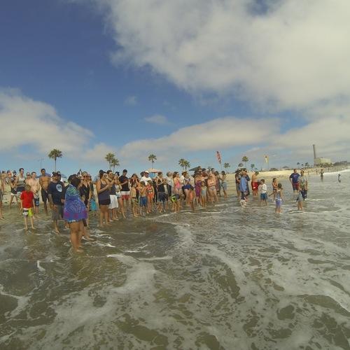 Beach Baptism 2015 Image 33