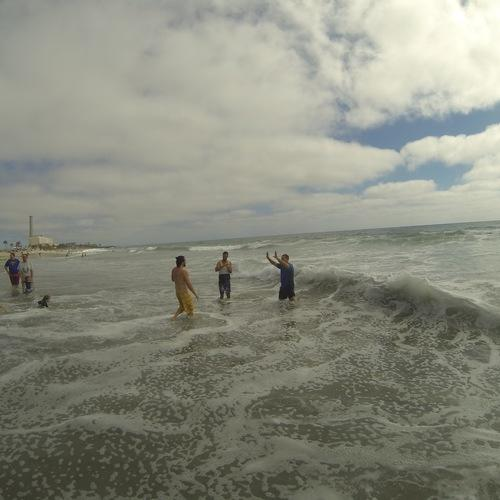 Beach Baptism 2015 Image 34