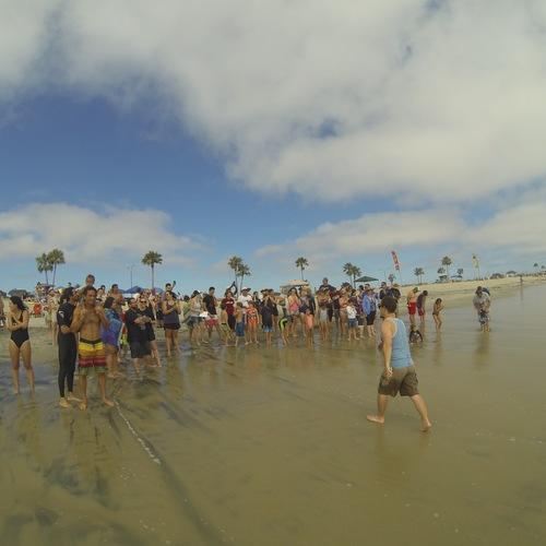 Beach Baptism 2015 Image 35