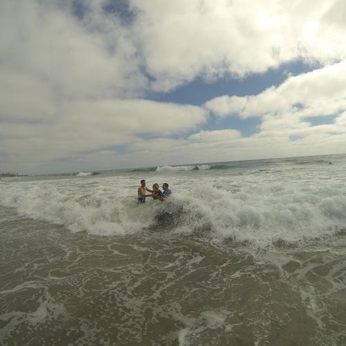 Beach Baptism 2015 Image 36
