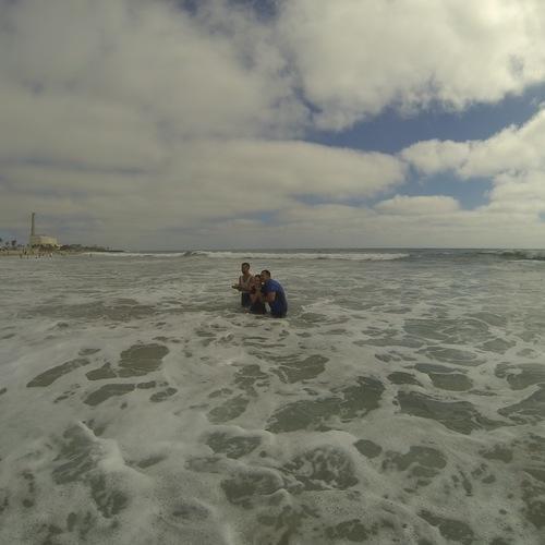 Beach Baptism 2015 Image 37