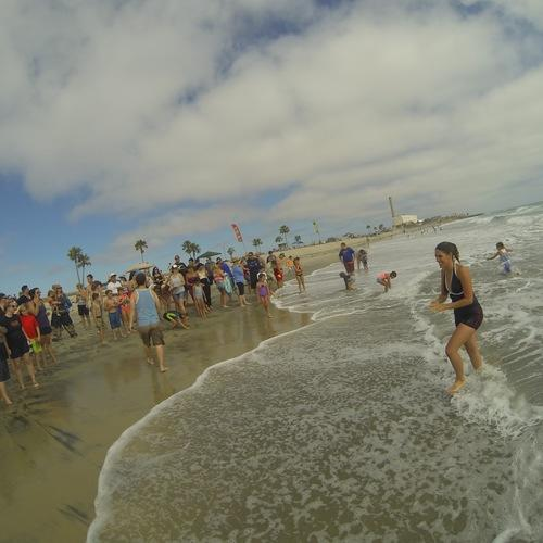 Beach Baptism 2015 Image 38