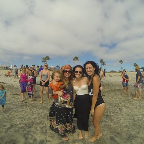 Beach Baptism 2015 Image 39