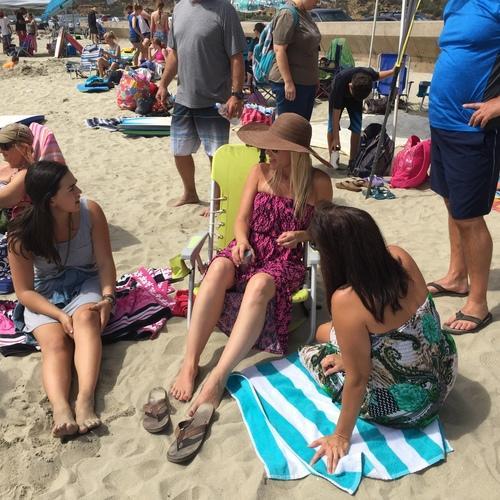 Beach Baptism 2015 Image 41