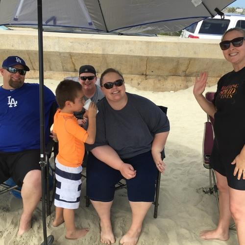 Beach Baptism 2015 Image 43