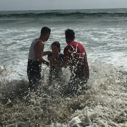 Beach Baptism 2015 Image 51