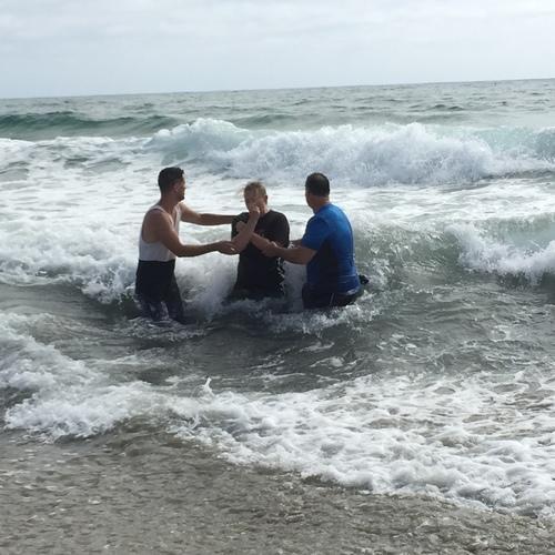 Beach Baptism 2015 Image 54